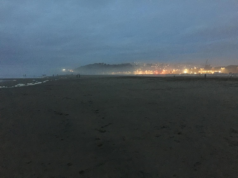 Ocean Beach  5:41 pm
