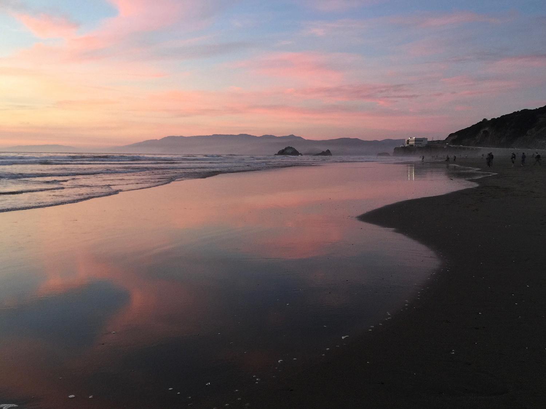 Ocean Beach  7:22 pm