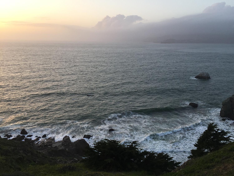 Wednesday, the Coastal Trail