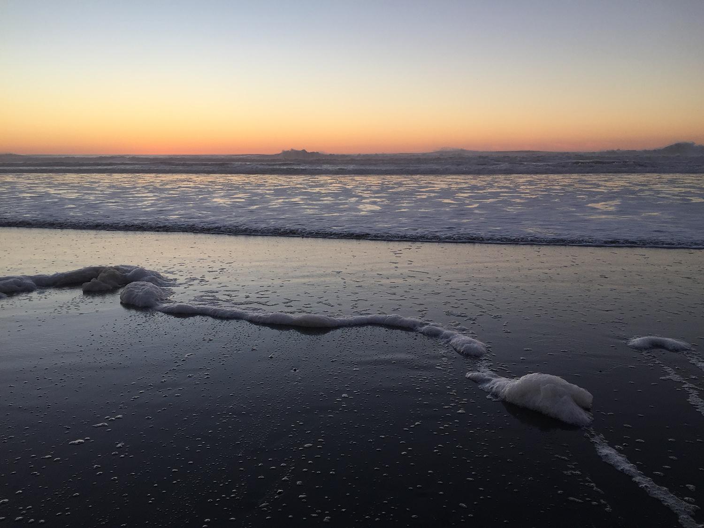 Ocean Beach,  4:55 pm