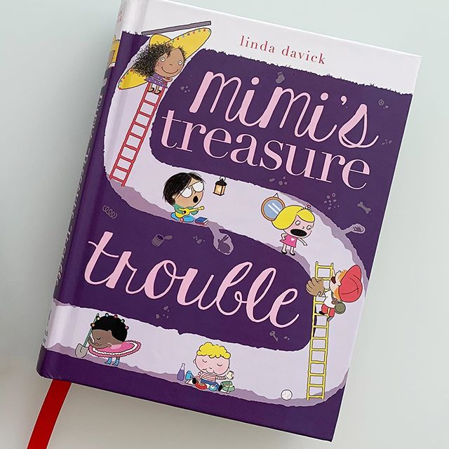 "I'm so happy to announce that ""Mimi's Treasure Trouble,"" the second in the Mimi's World Series, is being released today!"