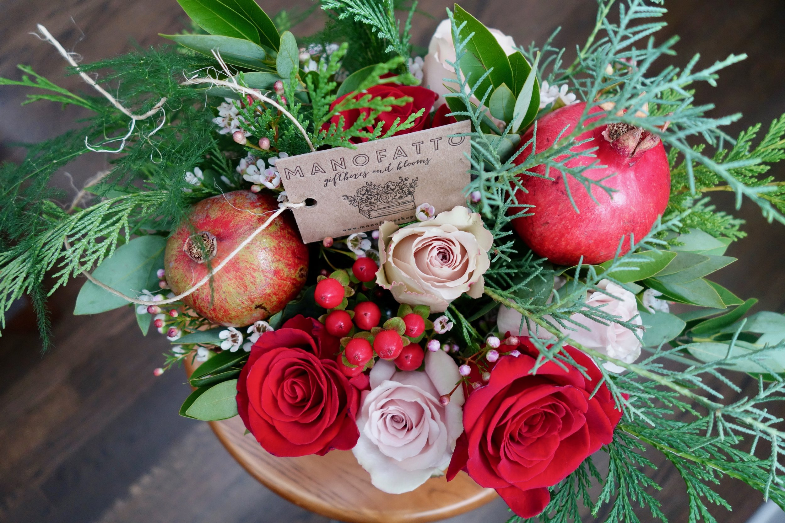 Holiday Blooms $80