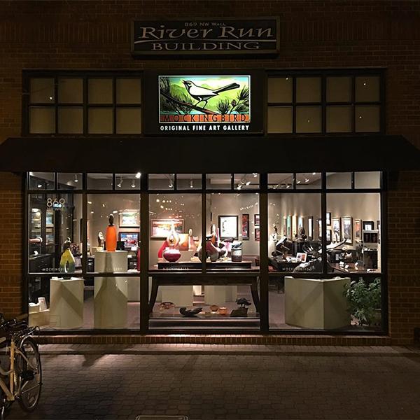 Bend Art Galleries Downtown Bend Walking Tour Mockingbird Gallery