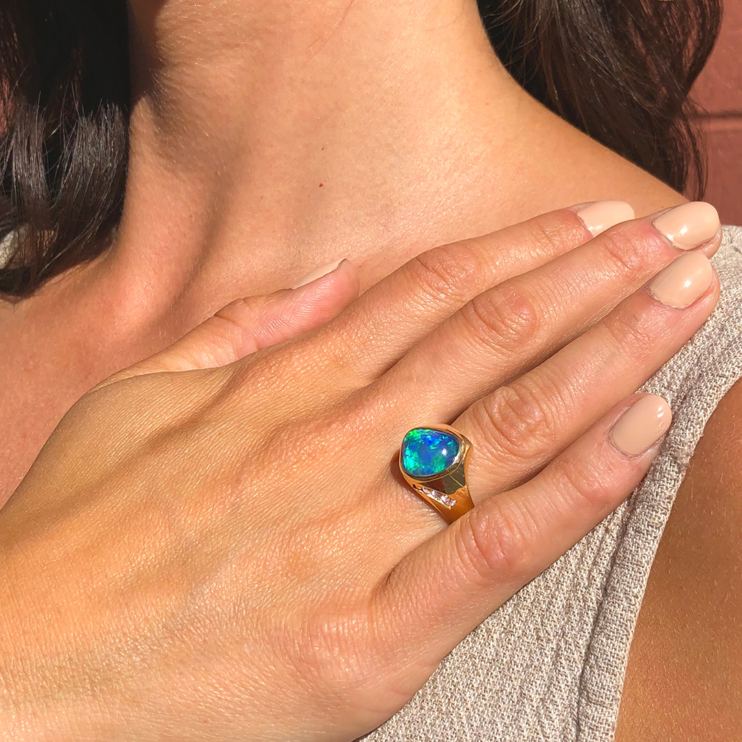 unique-blue-opal-gold-ring-diamond-accents-designed-by-karen-bandy-bend-oregon.jpg