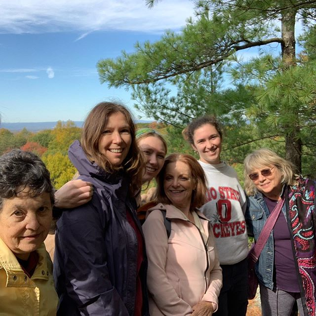 Wonderful weekend of worship at our annual retreat at #powellhouse. Silent meeting for worship at Dorson's Rock scenic overlook, punctuated by hawks soaring over the fall foliage. So glad to have a large contingent of our young people joining us!