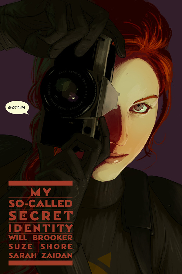 Cover of My So Called Secret Identity, Issue 5 by Clay Rodery