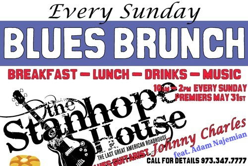 blues brunch stanhope house