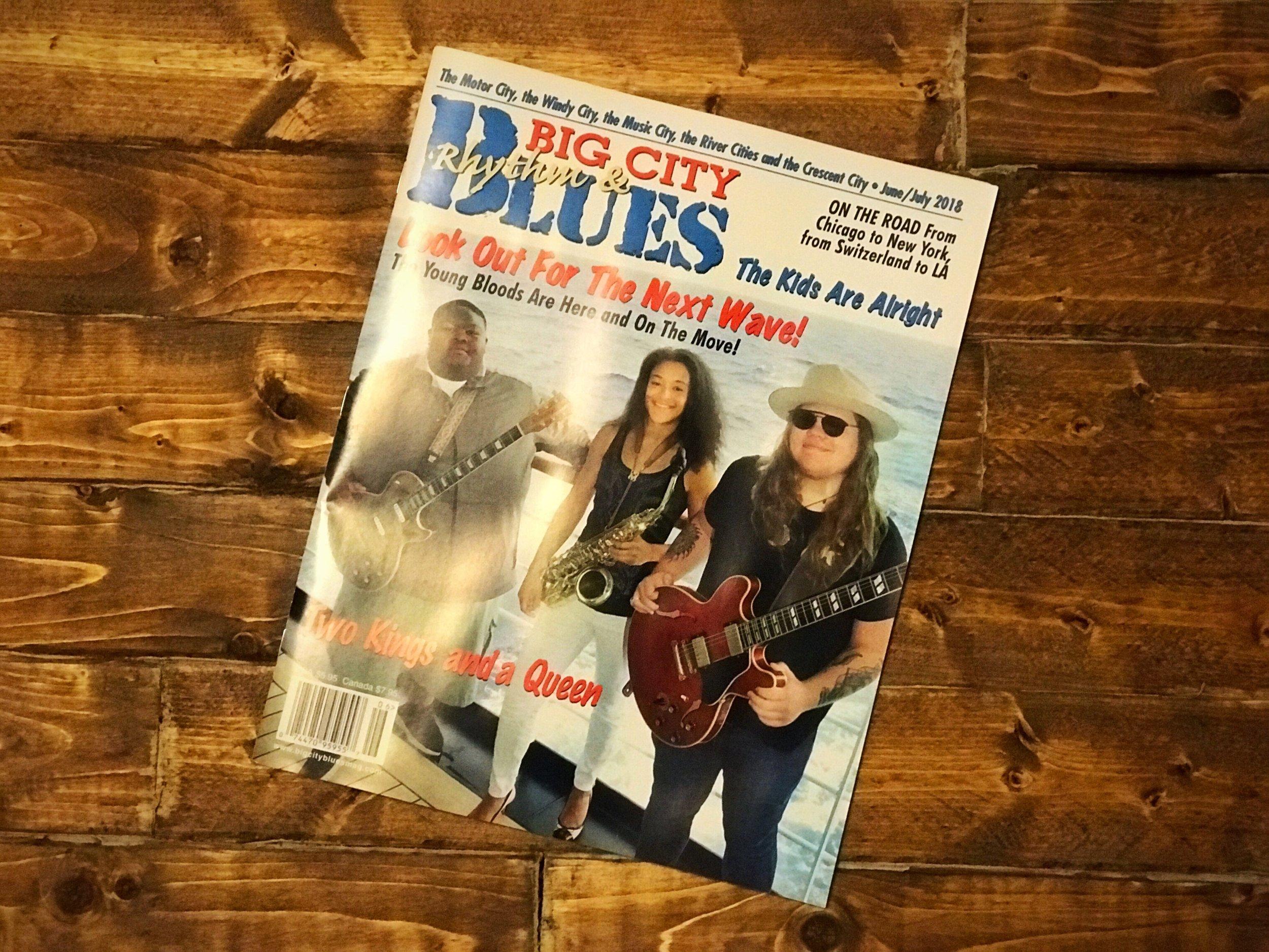 big city blues magazine adam najemian