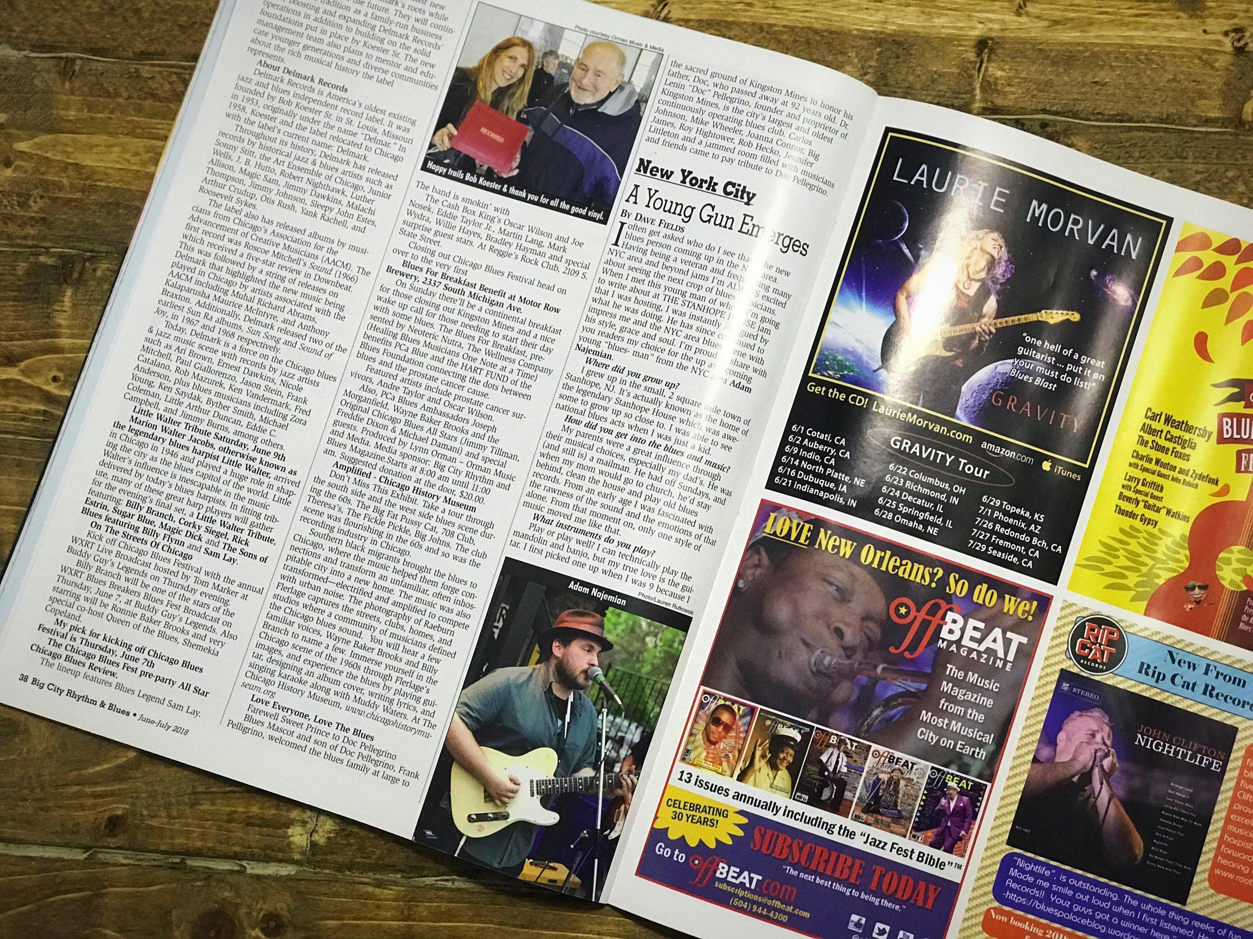 big city rhythm blues magazine adam najemian