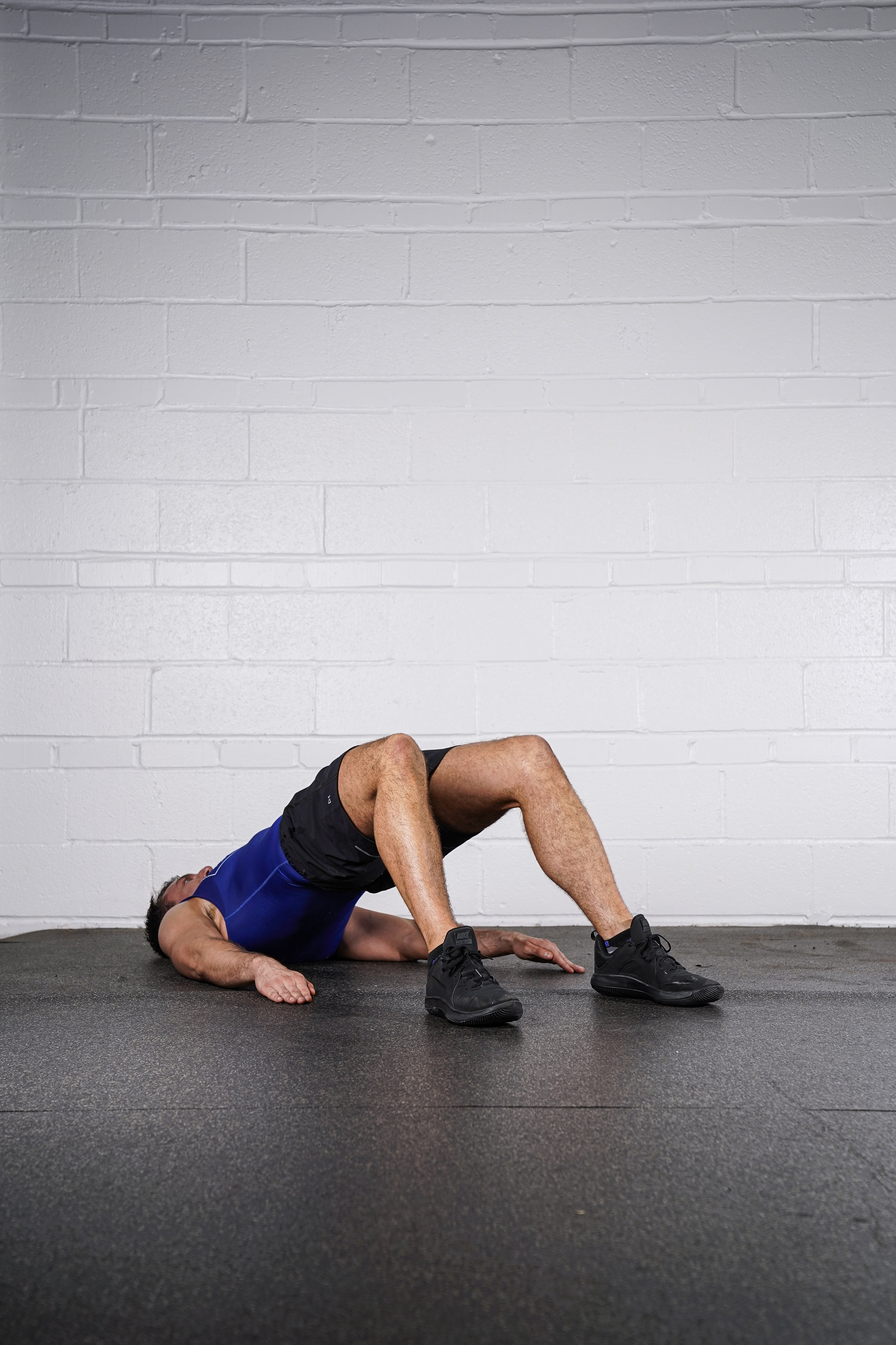 Glute Bridge Hold - - DURATION: 45 seconds- SETS: 1