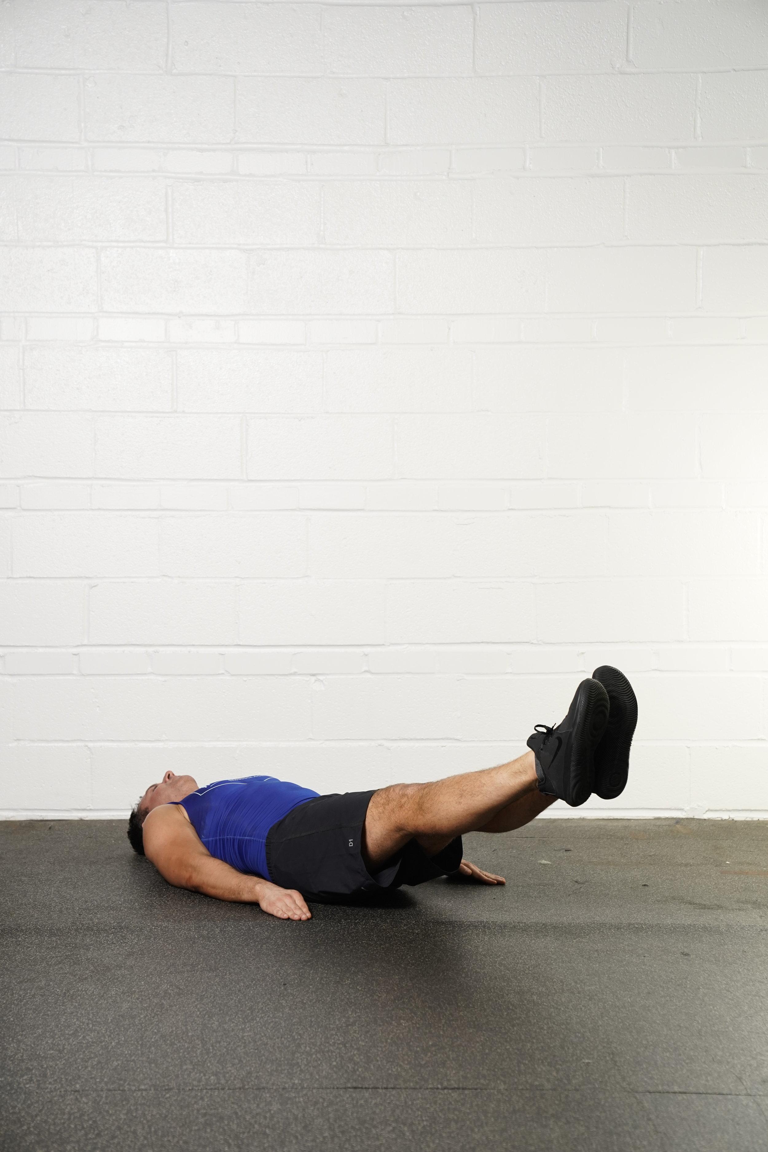 Leg Raise Hold - - DURATION: 30 seconds