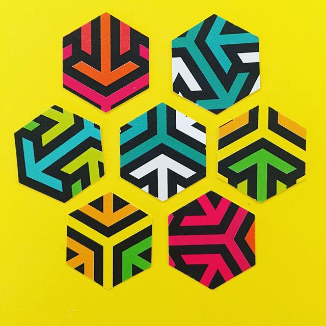 #hexagon #geometricart