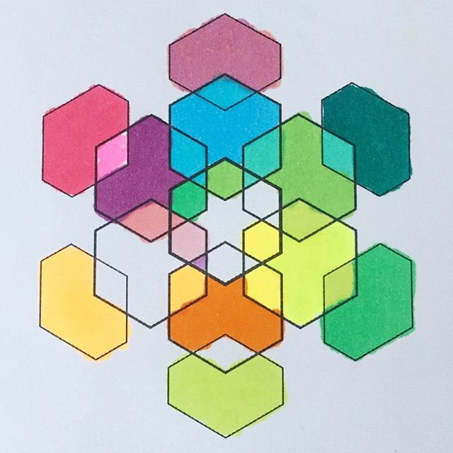 #geometric #hexagon #snowflake