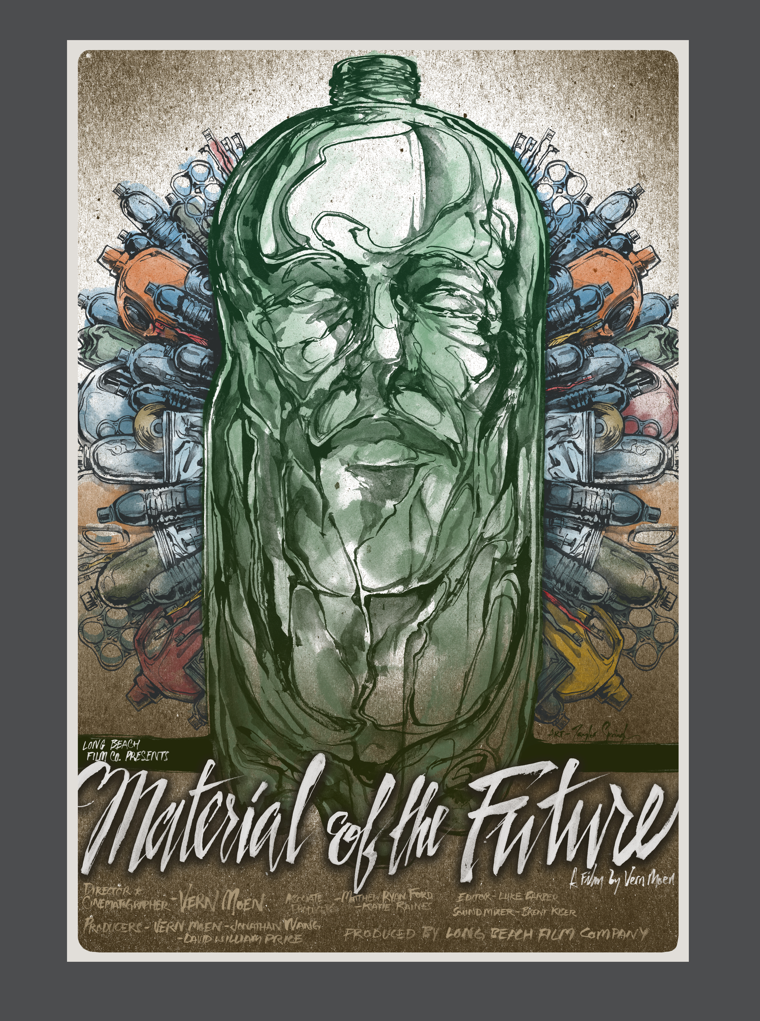 Material Of The Future - POSTER