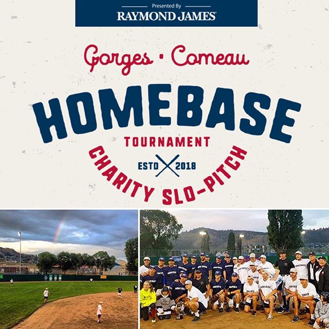 This weekend we are proud to once again be a part of The Homebase Charity Slo-Pitch Tournament, featuring an all-star lineup of NHL players including Josh Gorges, Blake Comeau, Shea Weber, Carey Price and more!  All proceeds go to JoeAnna's House, a home away from home at Kelowna General Hospital for families travelling for care. #homebase #gorgescomeauballtourney #joeannashouse #nhl #putmeincoach