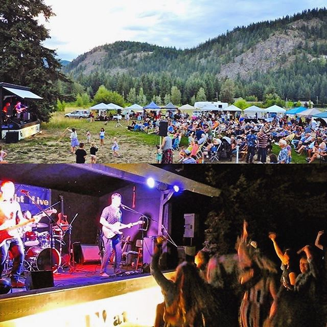 Great night at Scotch Creek's #fridaynightlive !!! We are up at @sunpeaksresort to jam at @morriseyspub after @serenaryder rocks the hill! @thescotchcreekhub  #sunpeaks #serenaryder #devoncoyote
