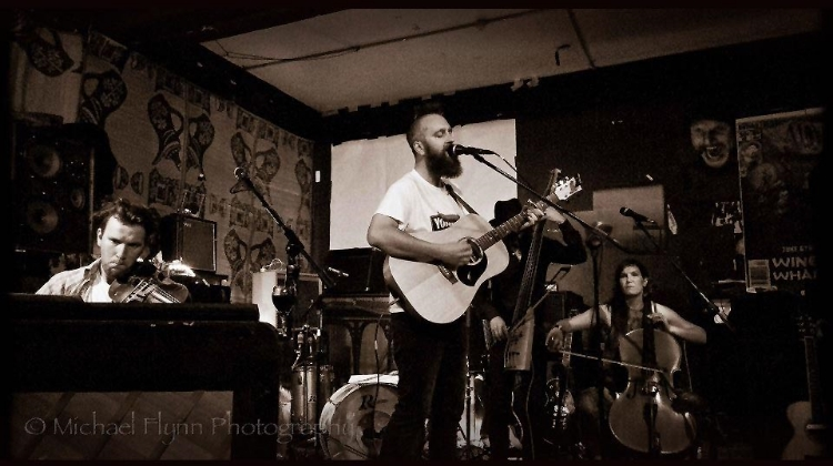 Playing with Scott J Mason at the Wine Cellar, Auckland