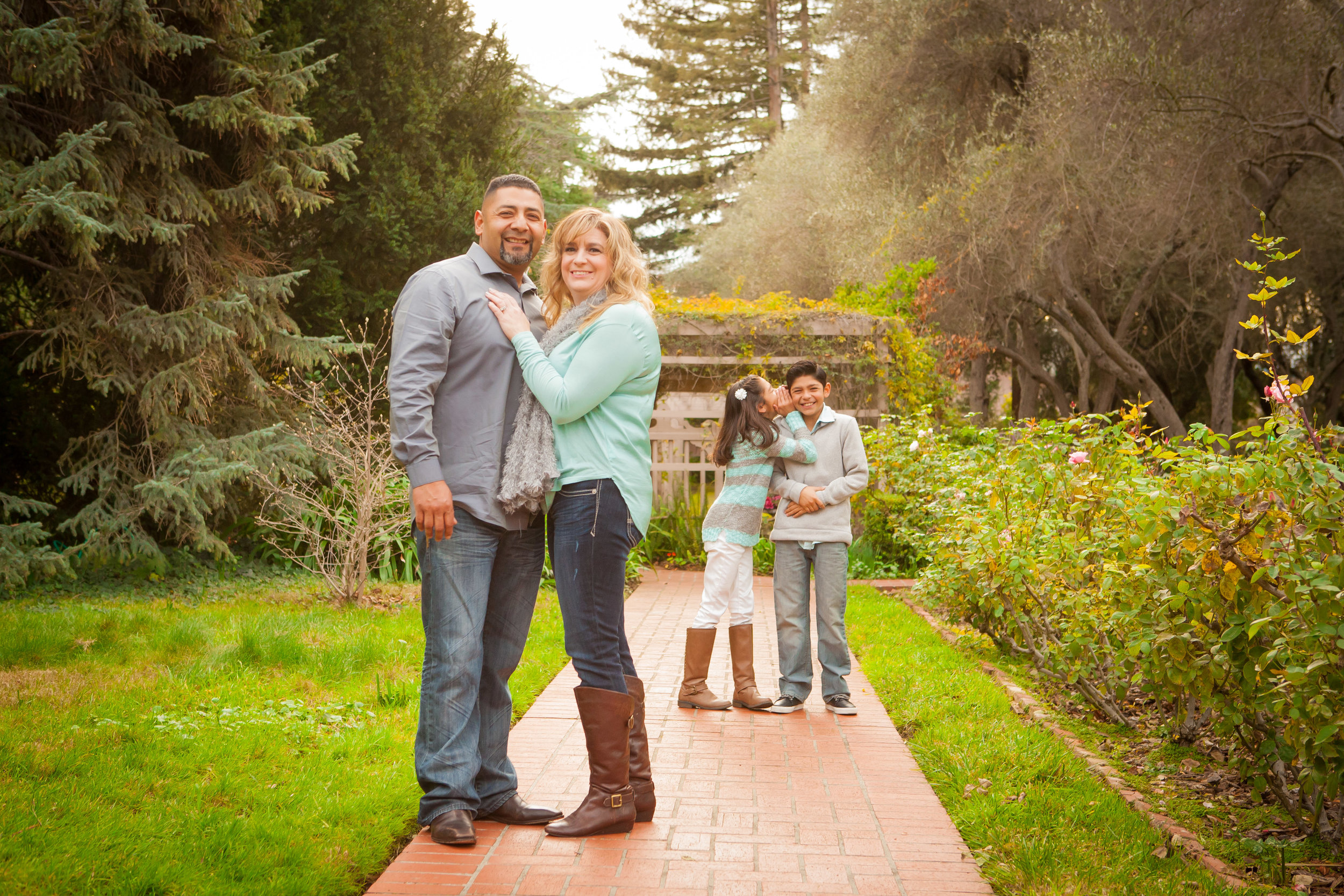 Family Portraits - As a family owned and operated business, we not only treat you just like family, but take pride in fostering family identity and love. Take a walk with us, as we capture what makes your family amazing! Starting at $350.Call 408.520.0053 today for $50 off for first time clients! Two families get $100 off if you book together! Thats $500 for two families instead of $700. So save big with friends!