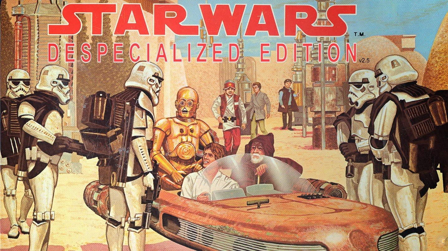 When George Lucas ruined your childhood because of his own peccadillos, Harmy's restoration of the Original Triology in this Despecialized Edition will warm your heart. Click it to discover a whole new world.