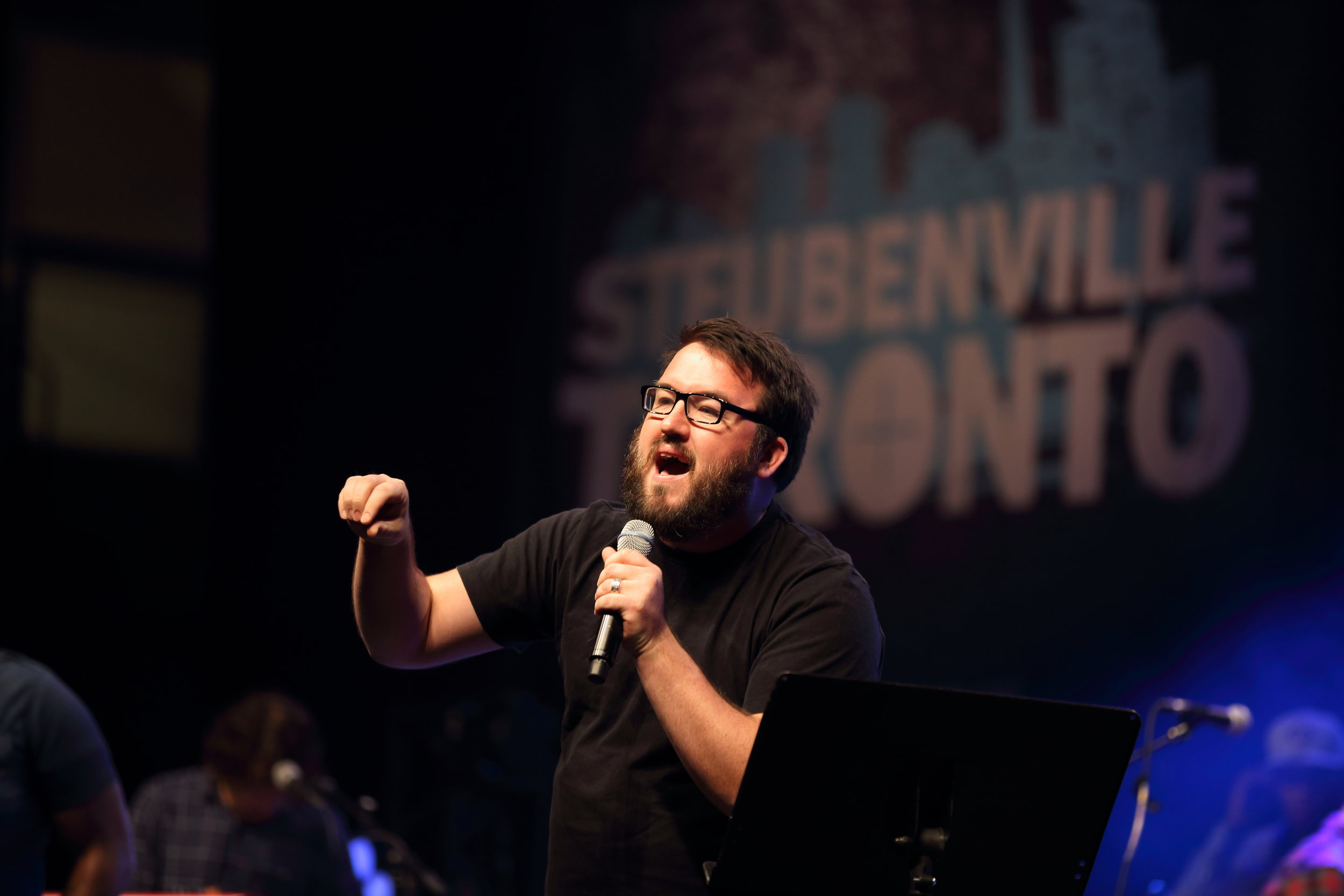 This is me preaching on the need for community at the first Steubenville Toronto Youth Conference.