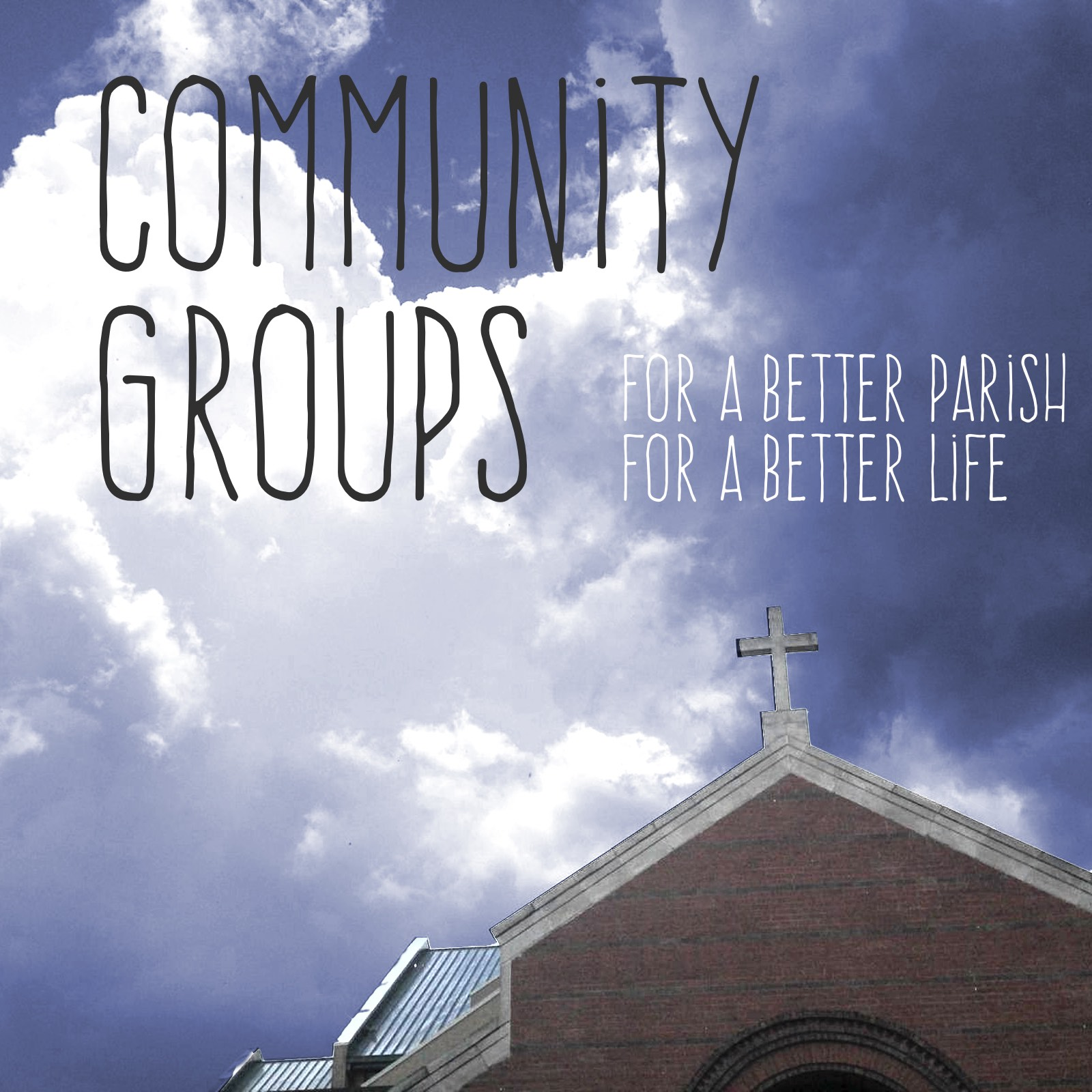 My banner ads on my parish website for getting people into community groups.
