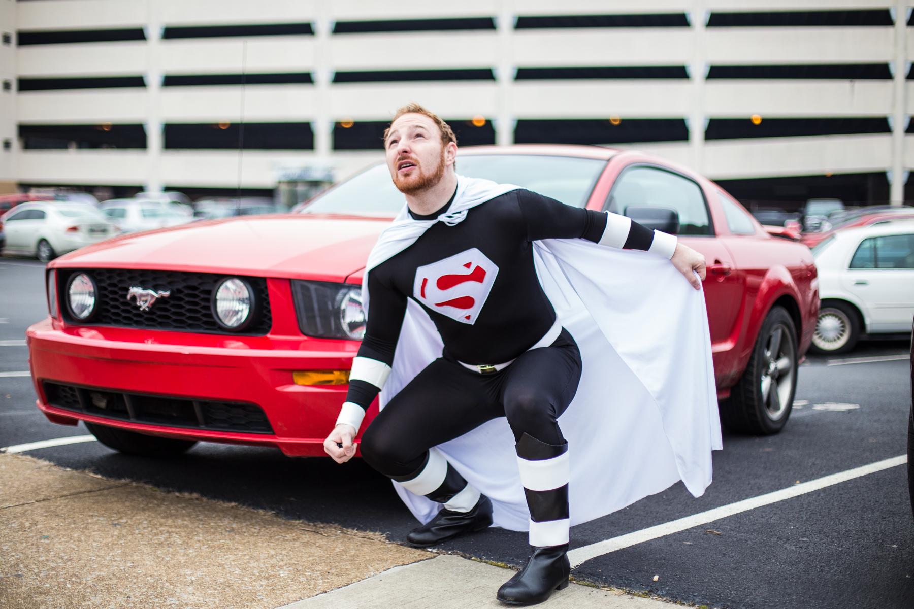 Axe-Murderer #23: Superguy