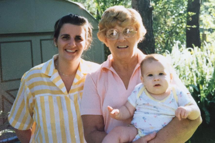 Mom, Mimi & me