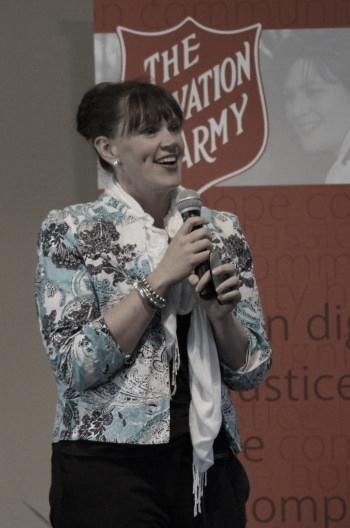 Kirrilie Smout, Speaker and Presenter, running seminars for parents, teenagers and teachers