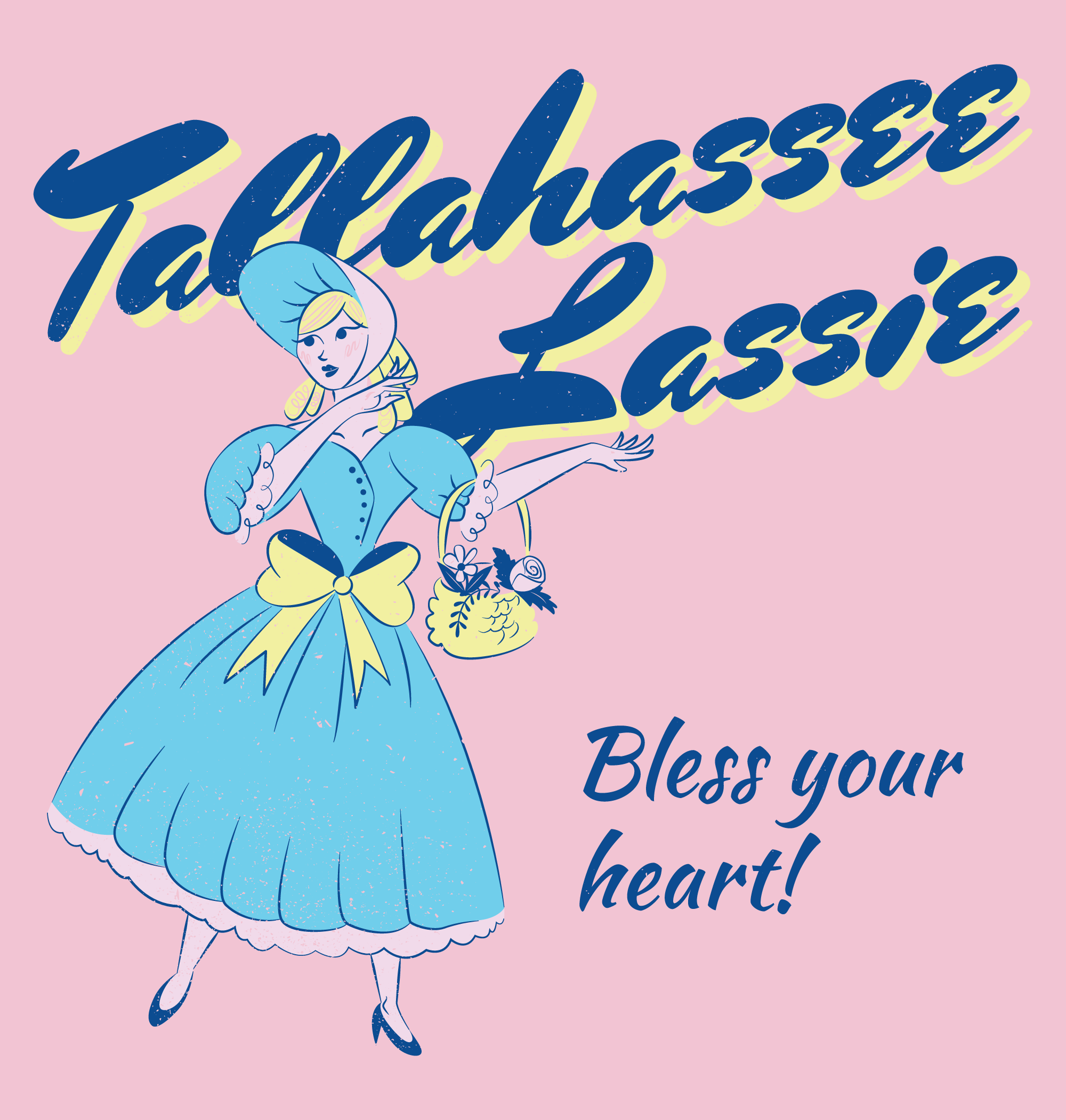 TallahasseeLassie_FINAL_screen1-pink_DISTRESSED.png