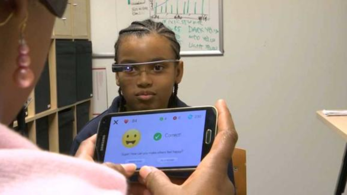Brain Power using AR to help those with autism to better connect to the world around them. Credit: Rob Michaelson