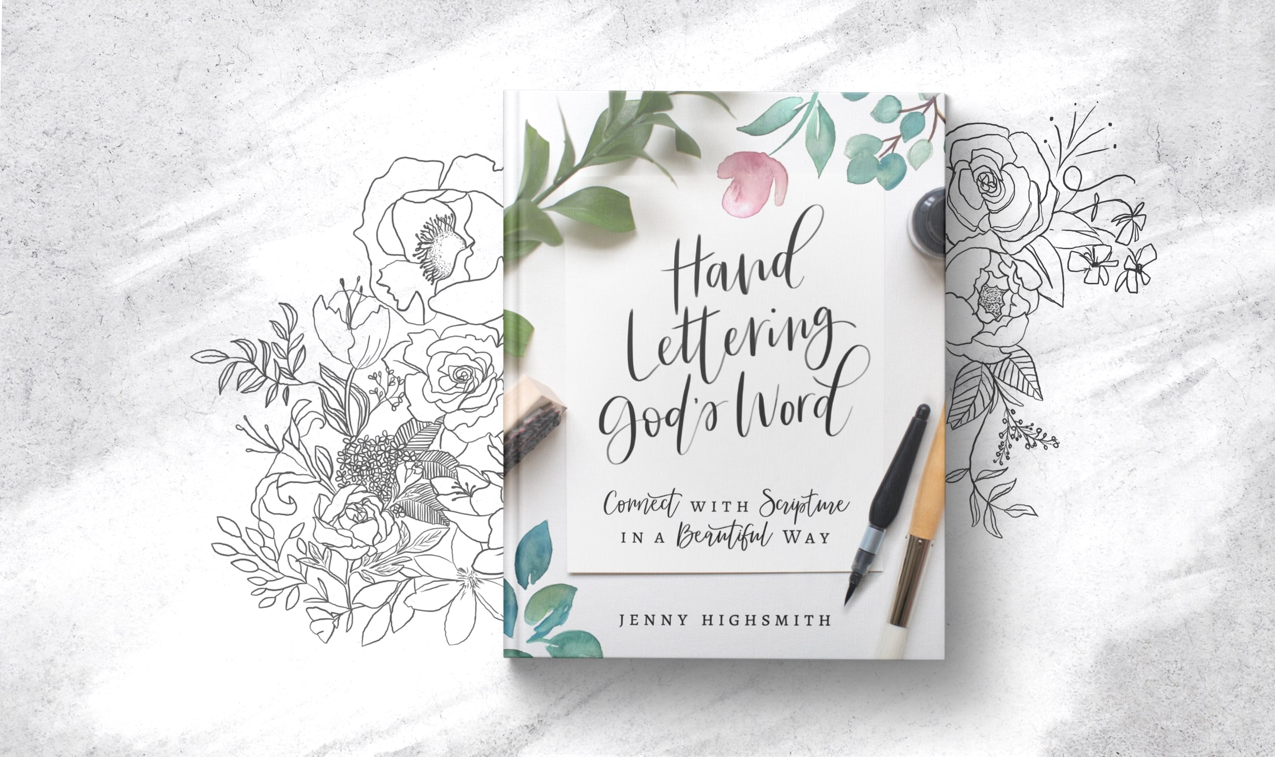 Hand lettering god's wordcoming soon! - Christian women are looking for books and resources to help them feel creative and, also, express their faith. Hand Lettering God's Word accomplishes both.The book is divided into two sections - the first section has a very practical, journal or workbook-like feel, teaching you the basics of hand lettering. Included are chapters on tools and resources, the basic strokes, and how to develop your own style. After completing this section, we hope you feel that you, too, can hand letter, even if you don't feel naturally gifted.The second section of the book is a more in-depth look at each alphabet letter, paired with a Scripture and small devotional for you to meditate on. This section is meant to show you how to use your new skill as a means of committing God's word to memory. We know how powerful God's Word is, and memorizing Scripture has many benefits including changing the desires of our hearts, fighting temptation, giving us direction, allowing us to share the gospel, giving us a weapon against spiritual warfare, and more powerful prayers.Perfect for solo practice or a nice small group study, this book is a wonderful way to grow closer to the Lord as you channel your creativity. You might even find it's a journey you would like to have together with other Christian women wanting to learn to hand-letter in a group, while also having accountability partners on Scripture memorization. You could encourage each other in both and have a new excitement for studying God's word.