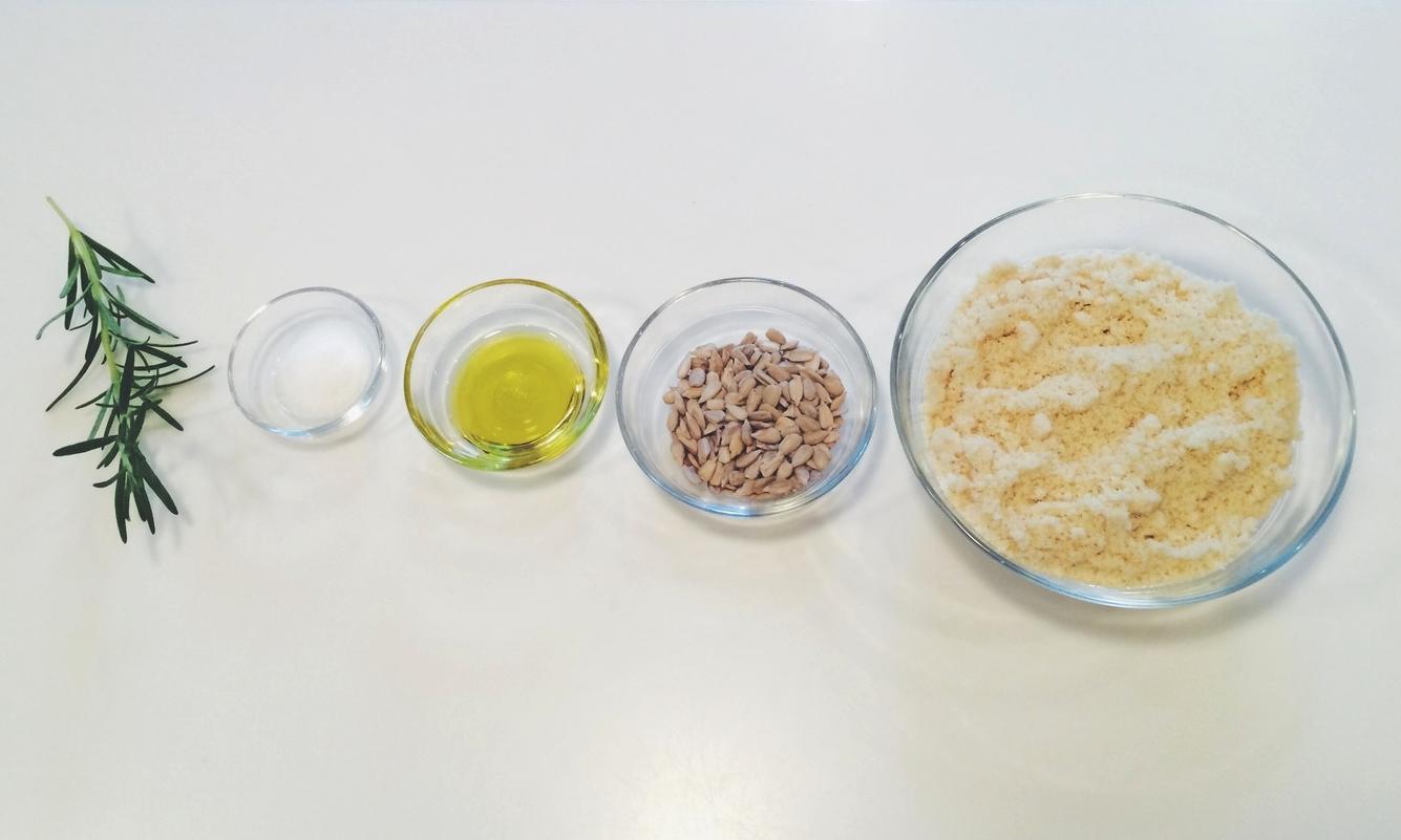 Keep it simple. Five measly ingredients.