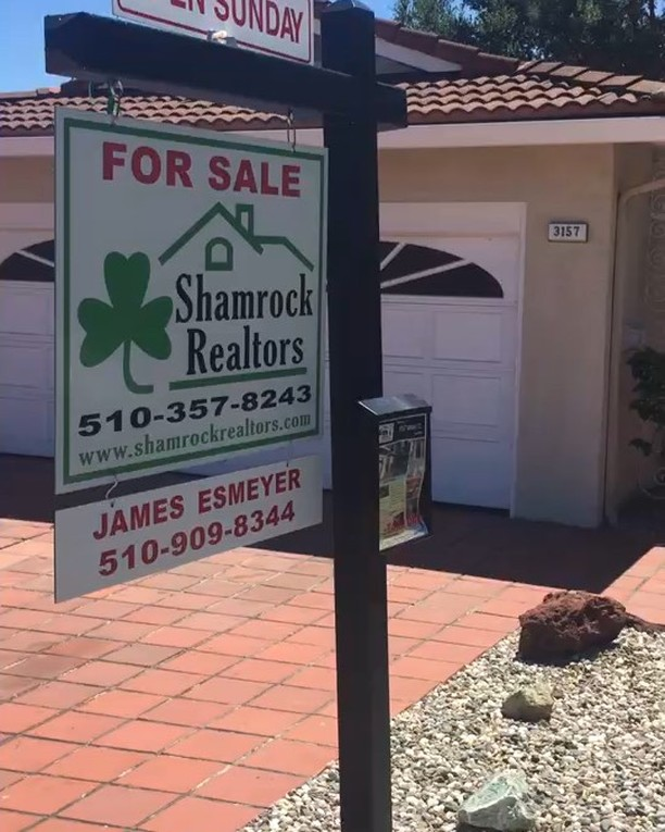 Another double header Sunday full of open houses! . We are so thankful for our clients and beautiful weather! Give us a call for more info: 510-909-8344 . #shamrockrealtors #esmeyerteam #openhouse #castrovalley #bayarearealtor