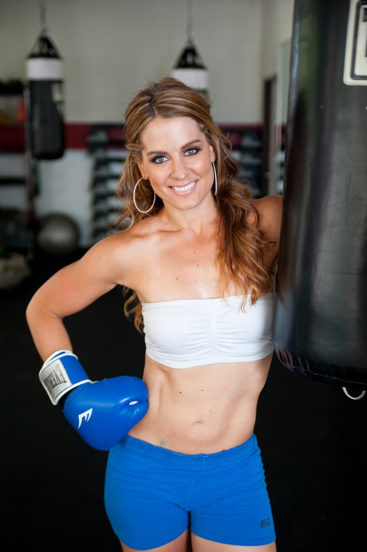 Athletic gym headshot
