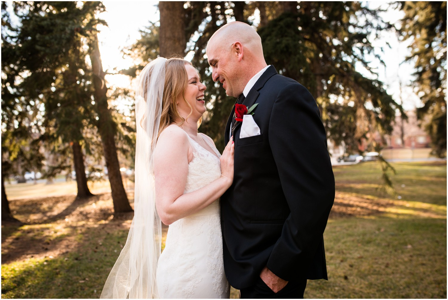 downtown denver winter wedding