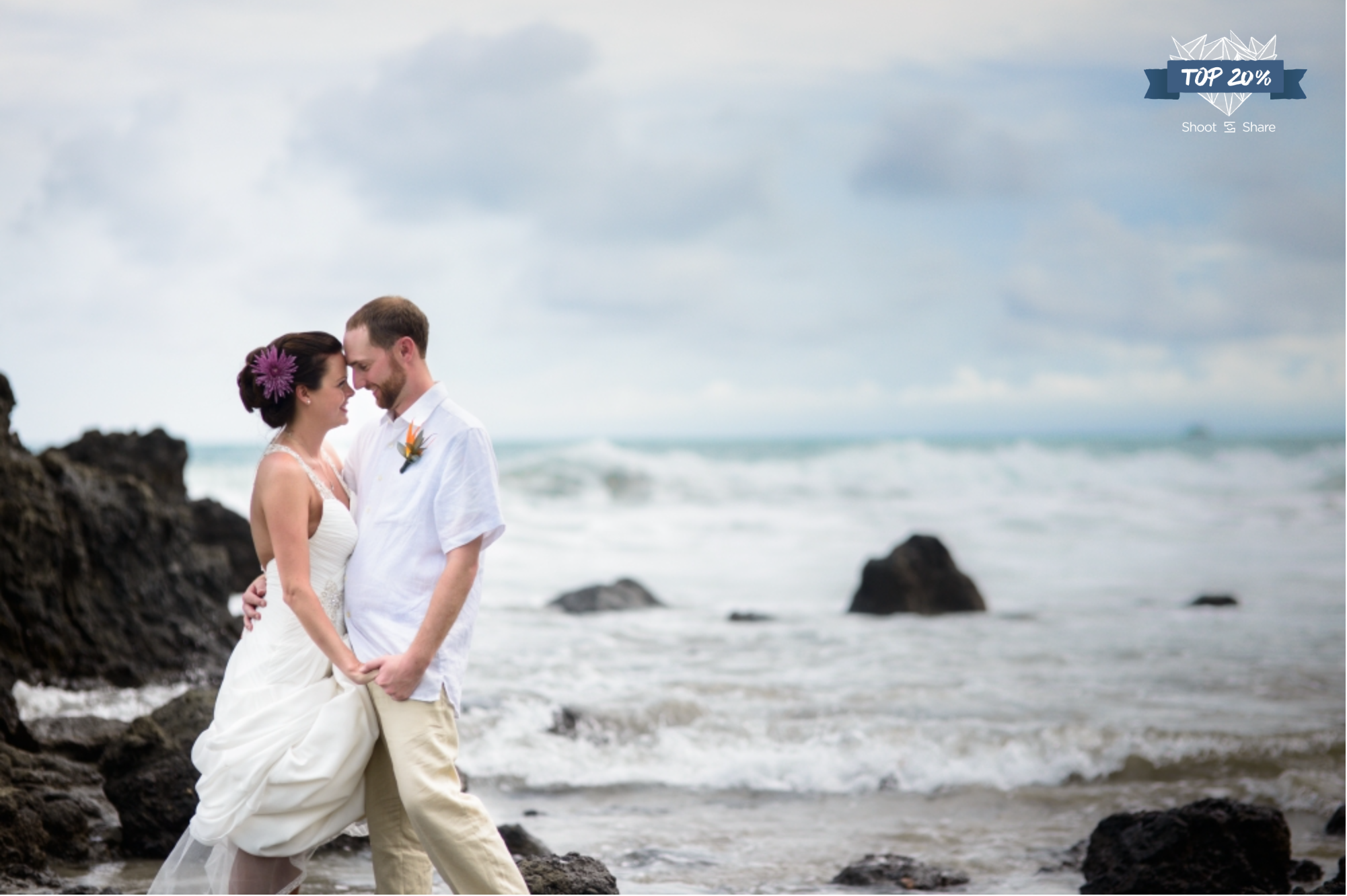 Romantic Destination Wedding on the Beach; Manuel Antonio, Costa Rica