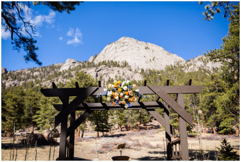 Estes Park ceremony site
