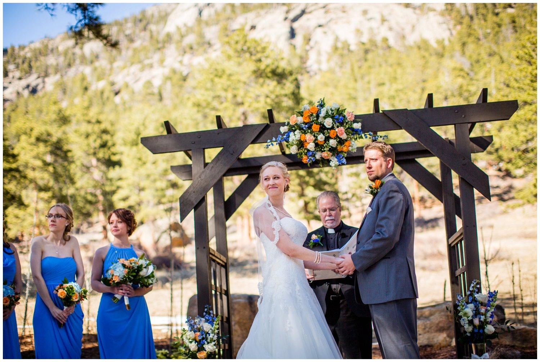 Della Terra wedding ceremony photo