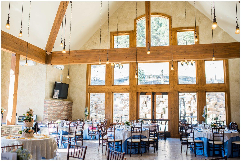 Della Terra Wedding reception room