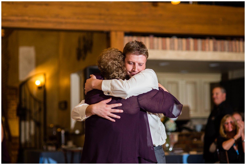 emotional mother son wedding dance