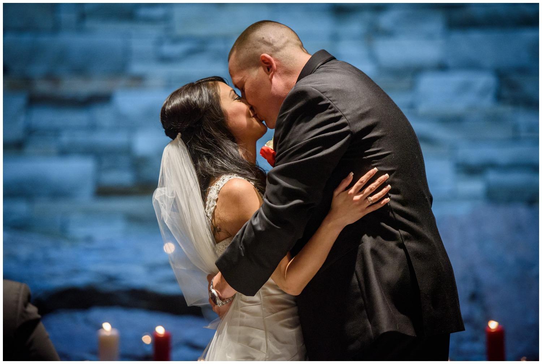 Magnolia hotel wedding ceremony