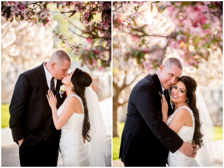 Colorado bride and groom portraits in Denver