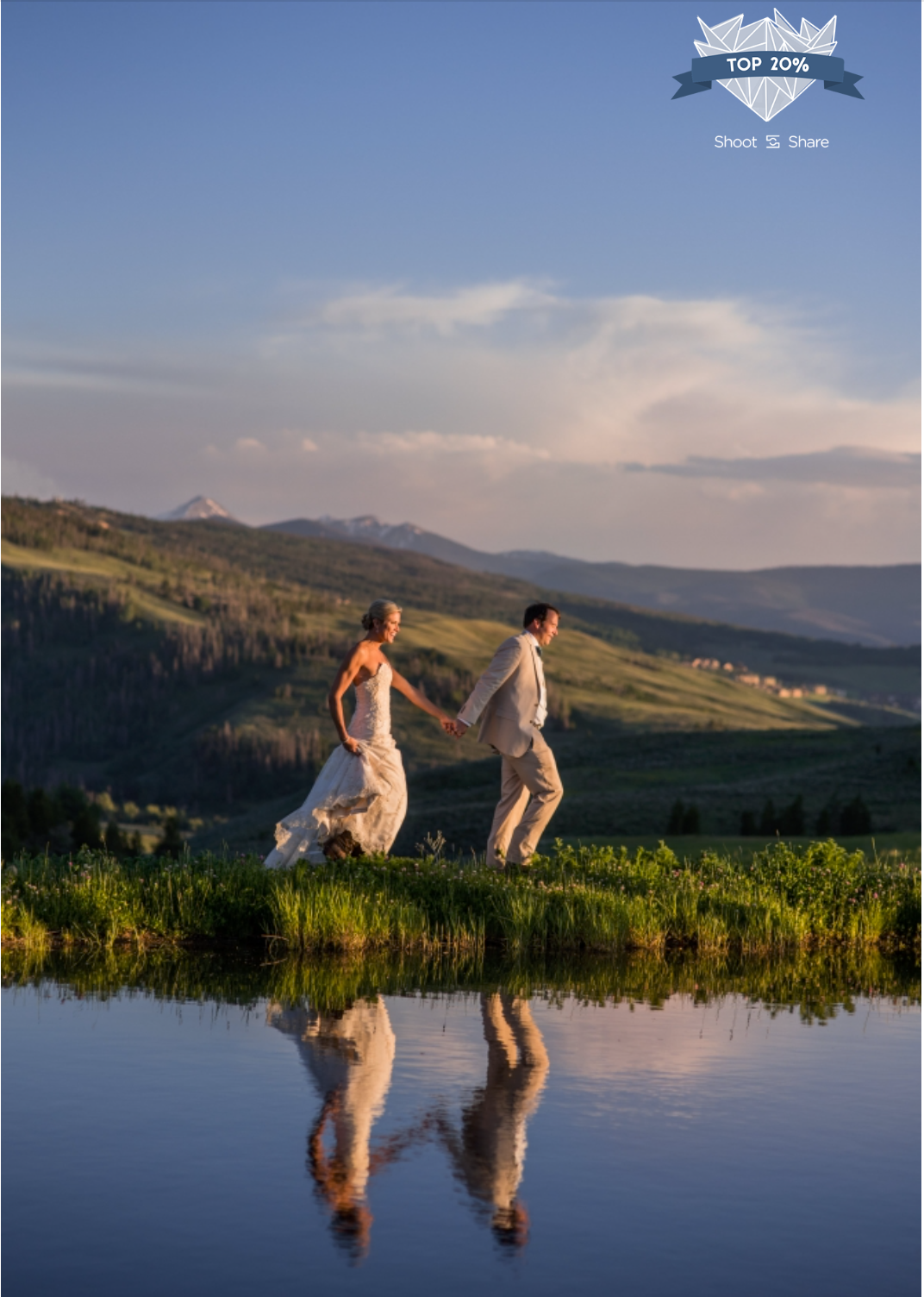 Strawberry Creek Ranch Wedding - The Wedding Couple Category - 4,378/ 35,527