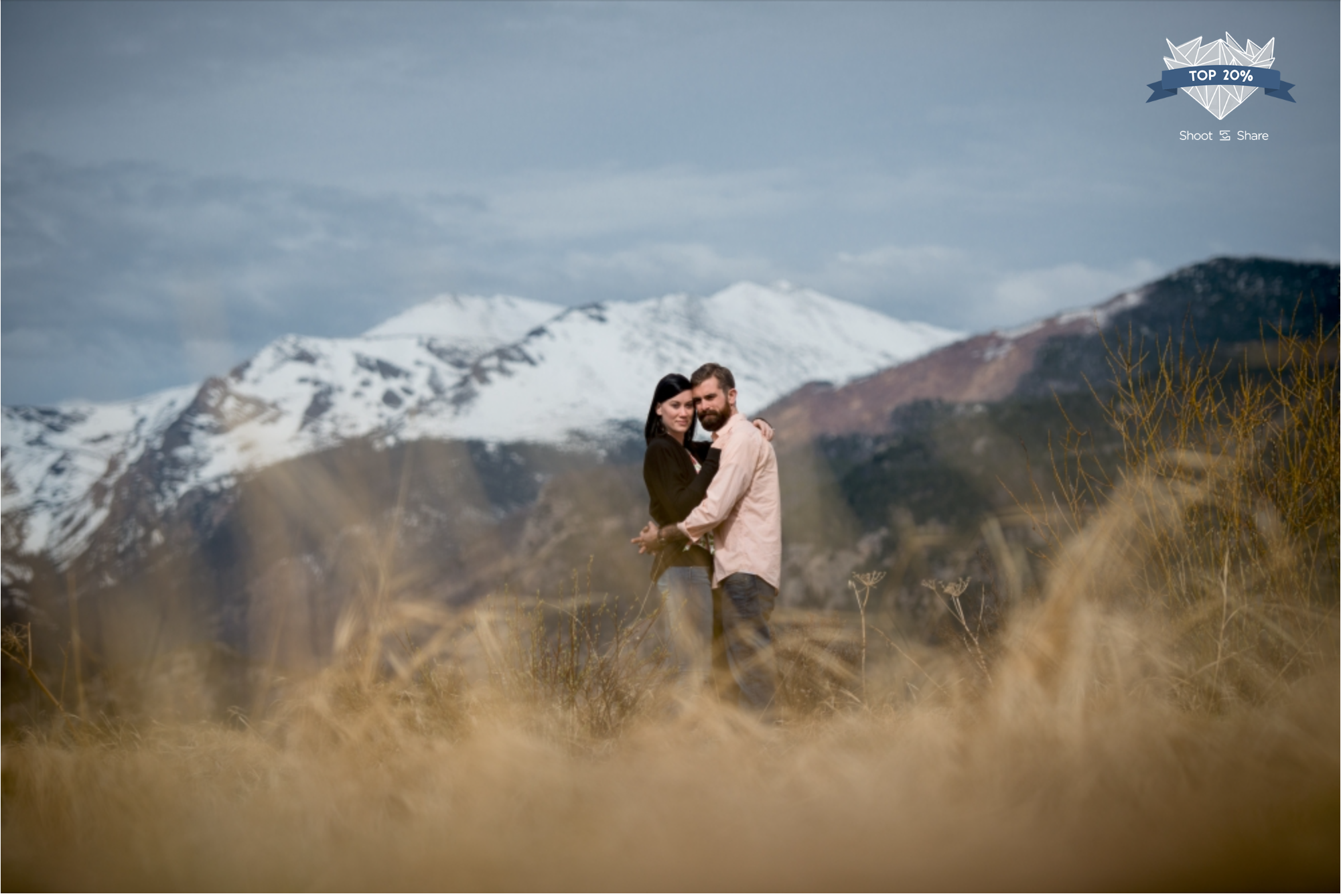Rocky Mountain National Park Engagement - Engagement & Couples Category - 6,142/ 32,282