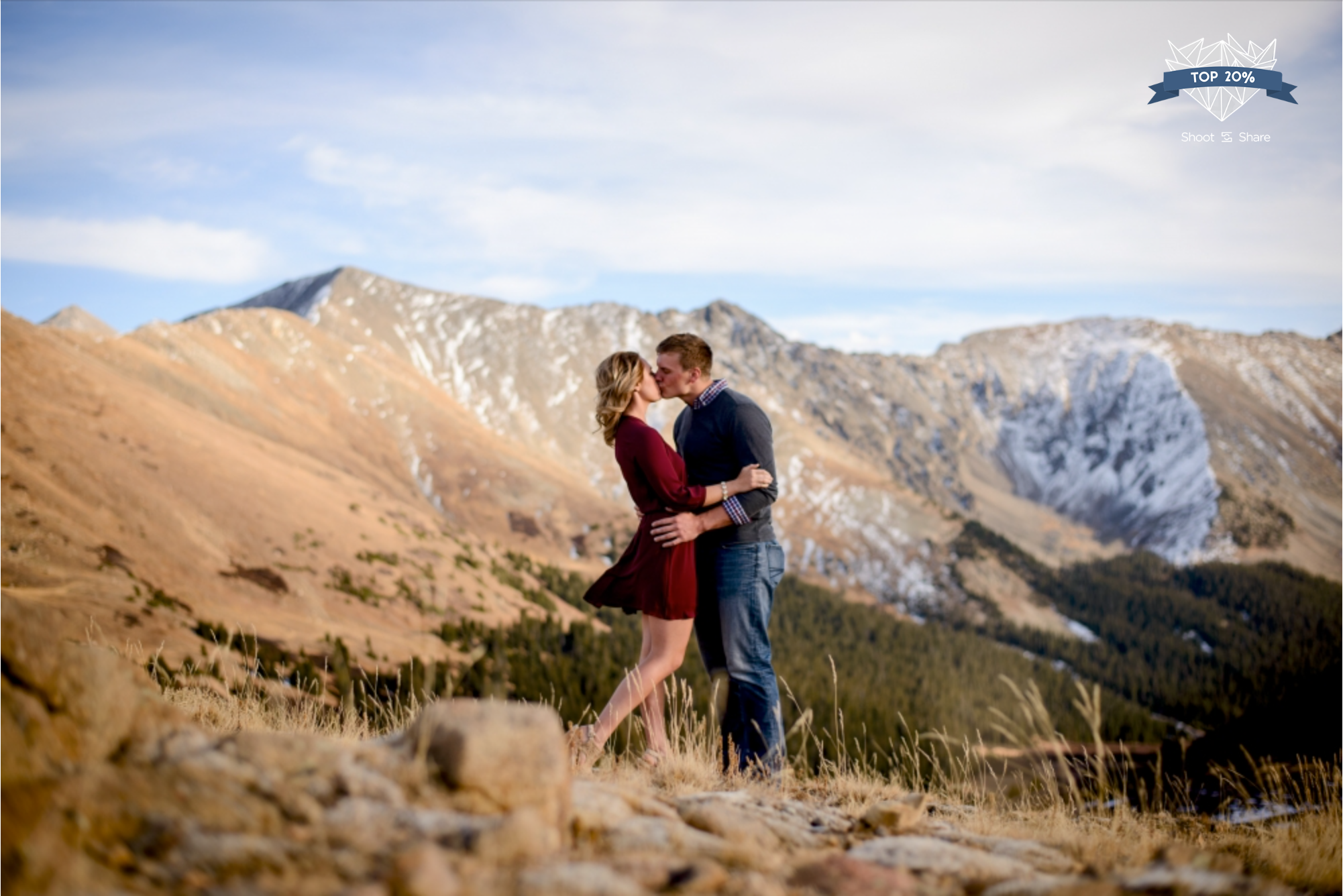 Loveland Pass Engagement - Engagement & Couples Category - 4,067/ 32,282