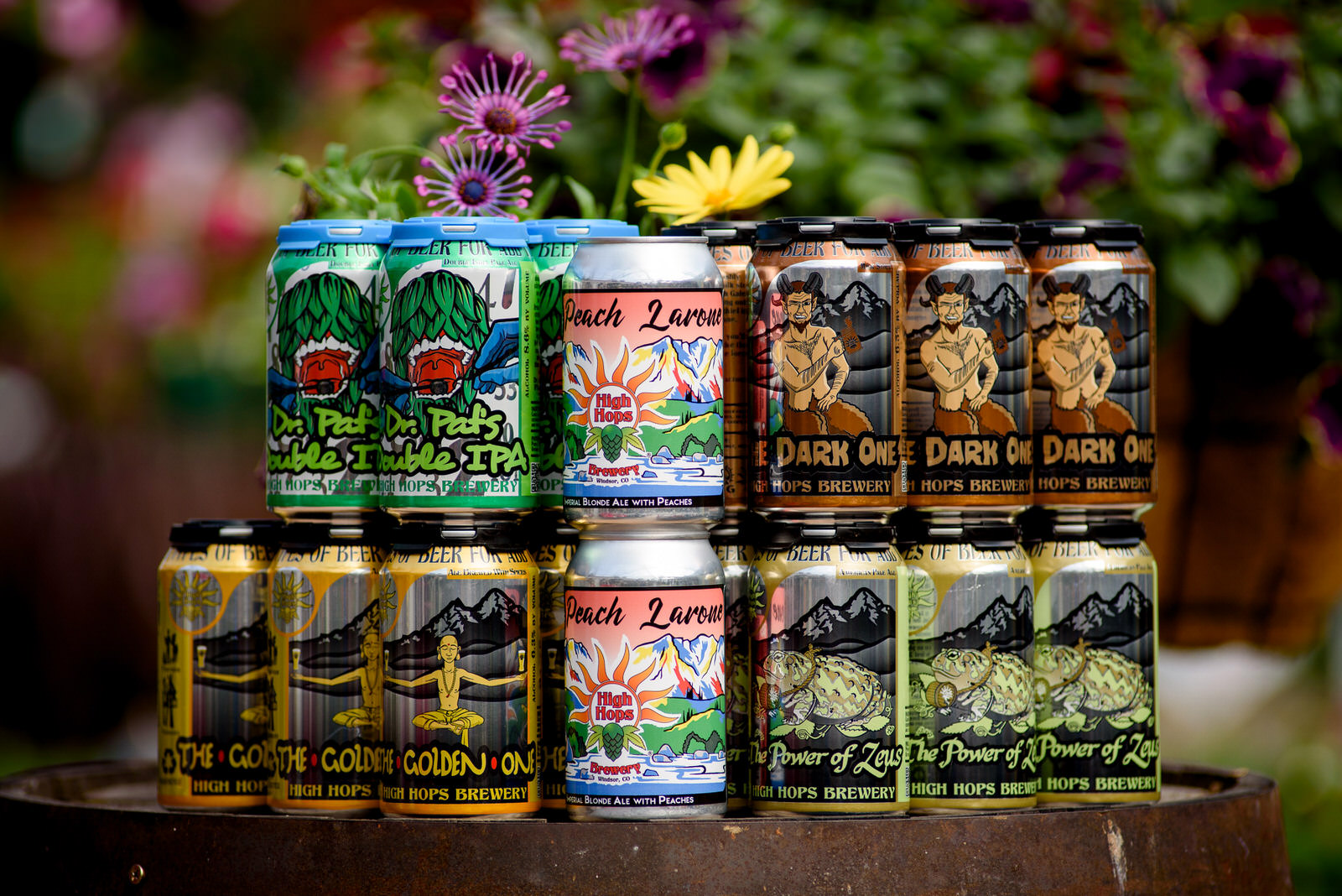 Colorado beer product photograph