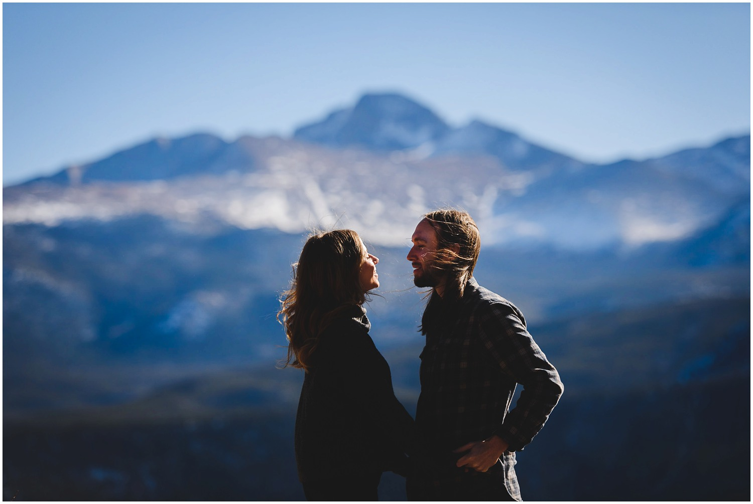 Estes Park Engagement Photo