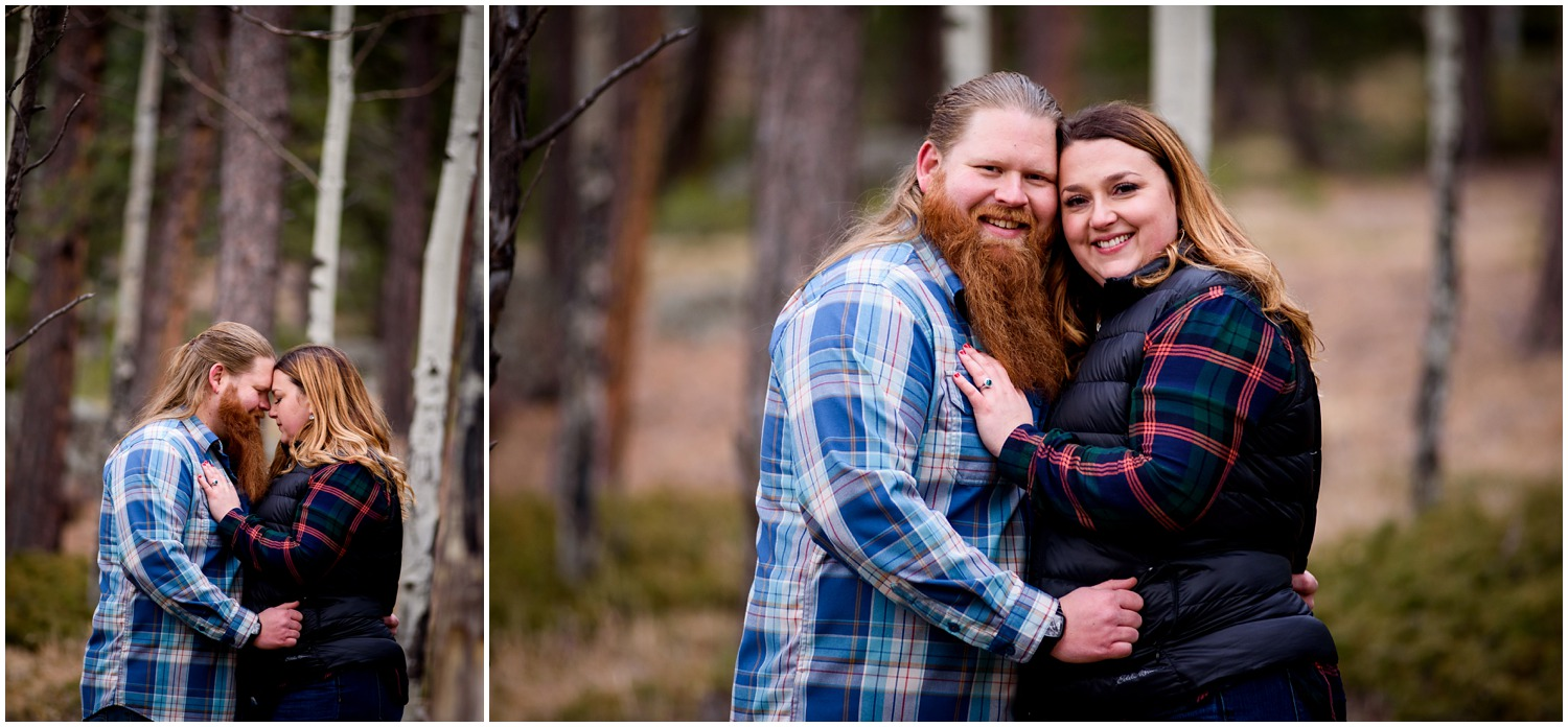 Engagement photography in Evergreen colorado