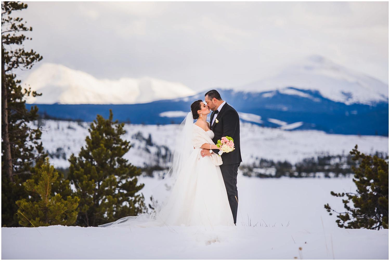 Lake Dillon Winter Wedding