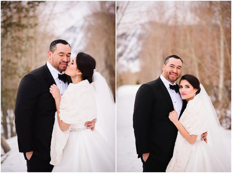 gorgeous winter wedding photos